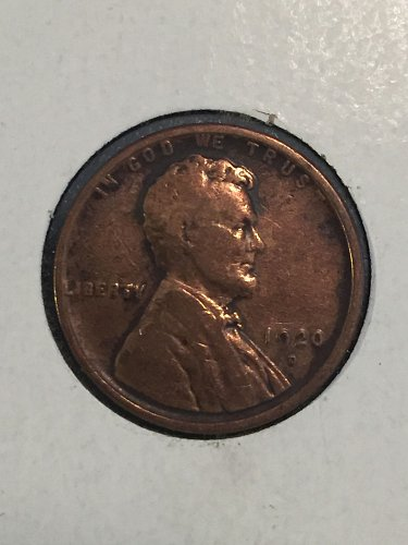 1920 D Wheat Cent