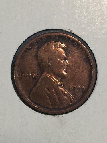 1920 D Wheat Cent