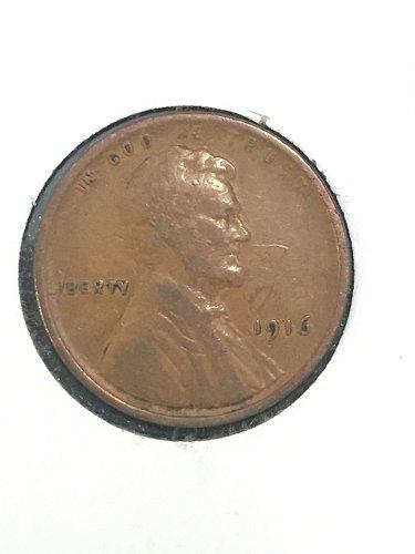 1916 P Wheat Cent