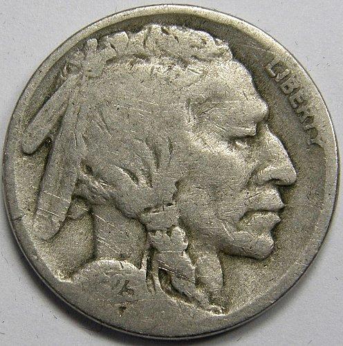 1923 S Buffalo Nickel #3