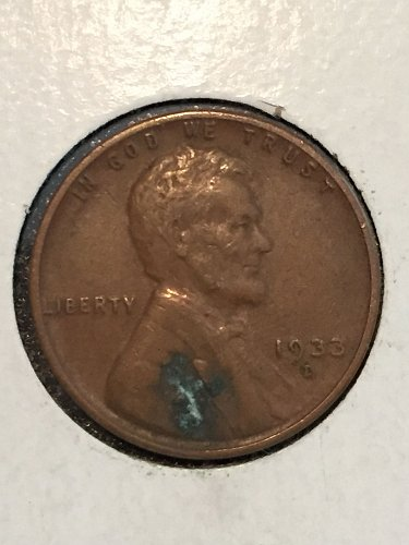 1933 D Wheat Cent