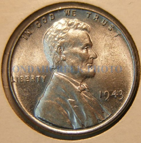 1943 Lincoln Cent Gem BU