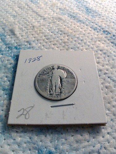 1928 STANDING LIBERTY QUARTER