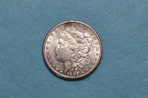 1881 S Morgan Dollar