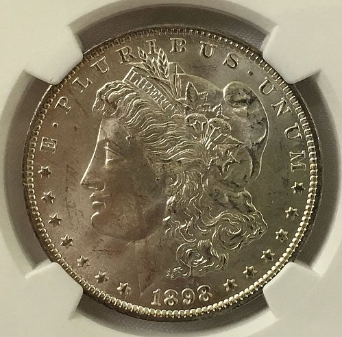 1898 O Morgan Dollar - NGS MS-65