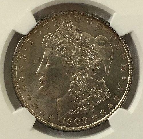 1900 P Morgan Dollar - NGS MS-65