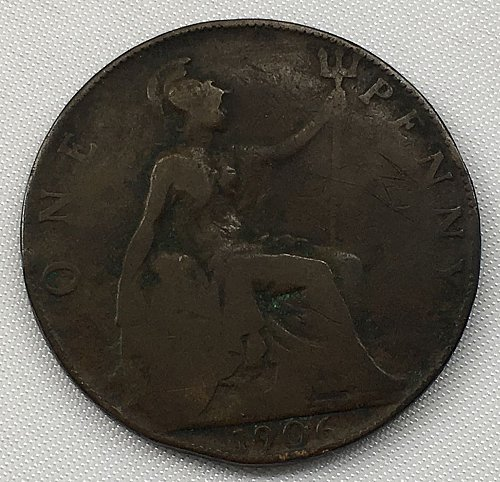 1906 Great Britain One Penny