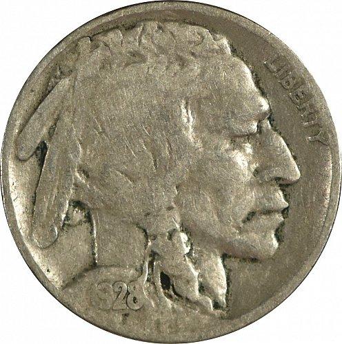 1928 Buffalo Nickel, (item 02)