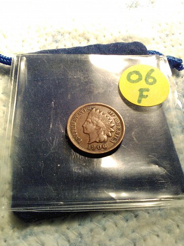 FINE 1906 INDIAN HEAD CENT