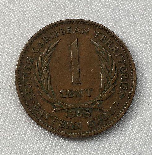 1958 British Caribbean Territories 1 Cent