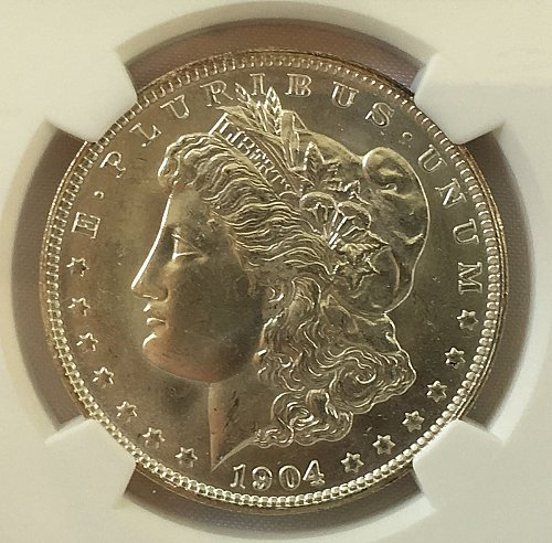1904 O Morgan Dollar - MS-64