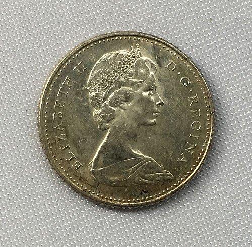 1968 Canada 10 Cents .500 Silver