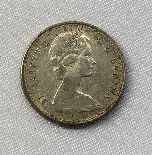 1966 Canada 10 Cents .800 Silver