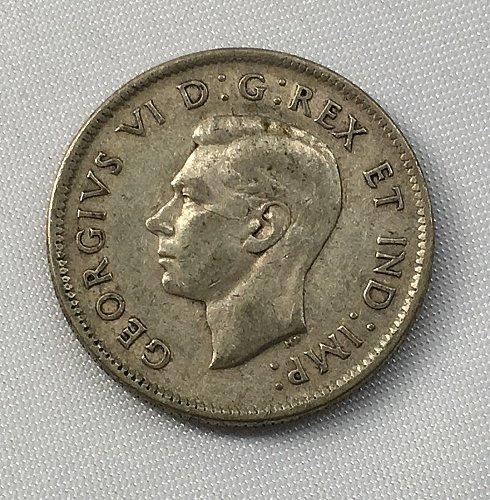 1940 Canada 25 Cents .800 Silver