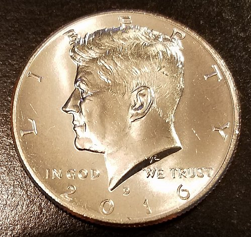 2016-D Kennedy Half Dollar - From US Mint Roll (6426)
