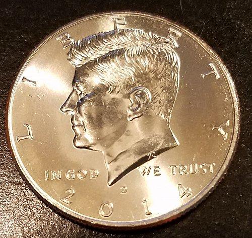 2014-D Kennedy Half Dollar - From US Mint Roll (6429)