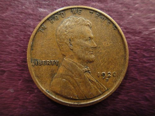 1920-S Lincoln Cent Extra Fine-40+ Light Chocolate Brown & SHARP STRIKE!