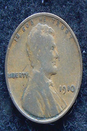 1910 P Lincoln Wheat Cent (VG-8)