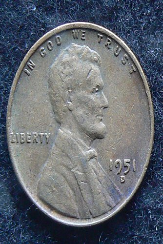 1951 D Lincoln Wheat Cent (F-12)