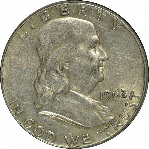 1962 D Franklin Half Dollar,  (Item 166)
