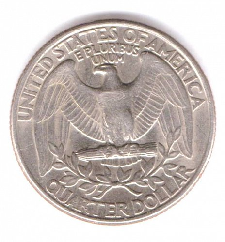 1977 Small D Some Doubling Washington Quarter Circulated Ungraded A cud eagles p