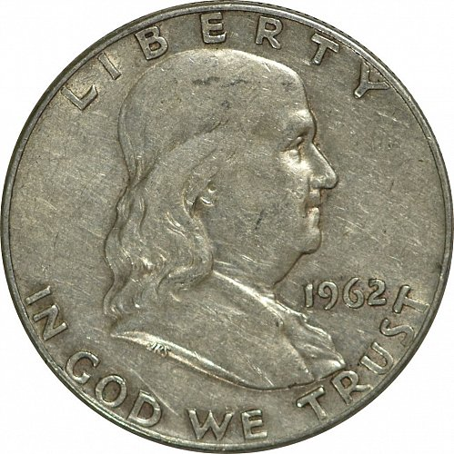 1962 D Franklin Half Dollar, (Item 169)