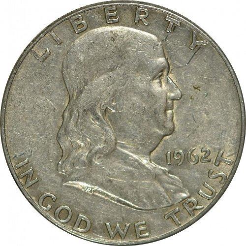 1962 D Franklin Half Dollar,  (Item 170)