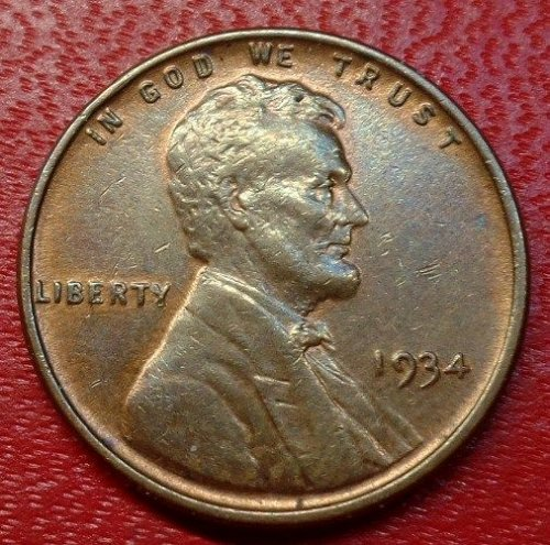 1934 P Lincoln Wheat Cent ////