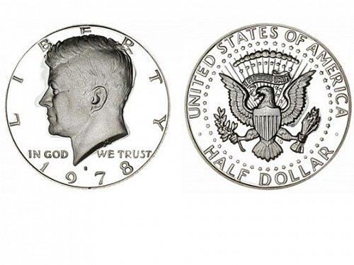 1978 S Proof Kennedy Half Dollar