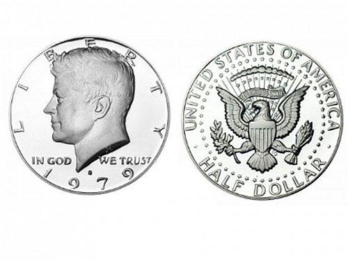 1979 S T1 Proof Kennedy Half Dollar