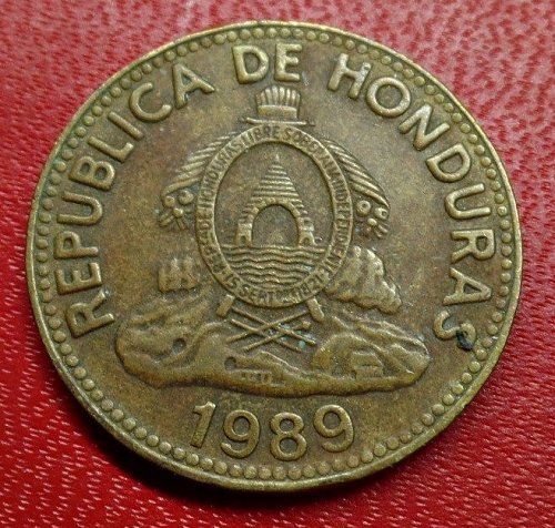 1989 Honduras 10 centavos