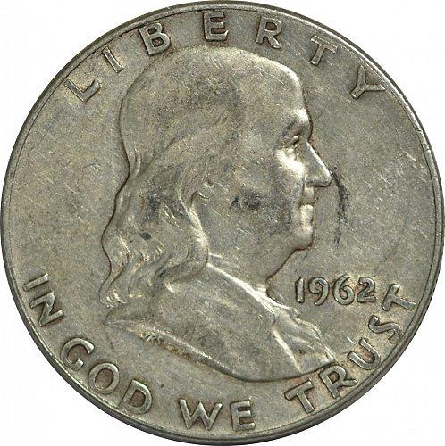 1962 D Franklin Half Dollar,  (Item 171)