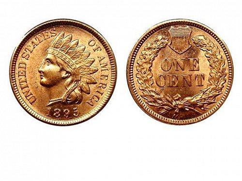 1895 BU Indian Head Cent