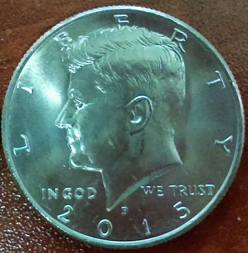 2015 Kennedy P from US Mint Uncirculated