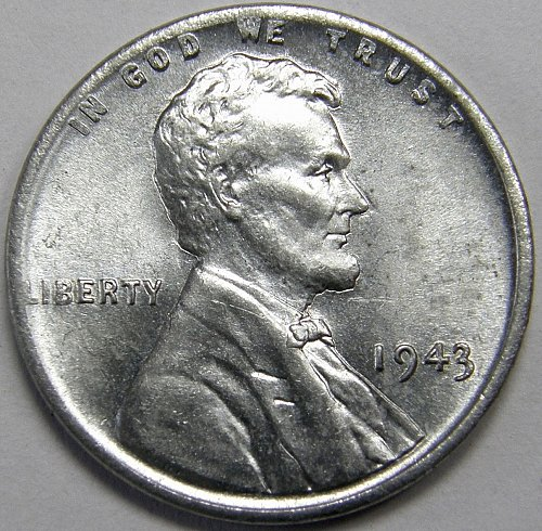 1943 P Lincoln Wheat Cent #5