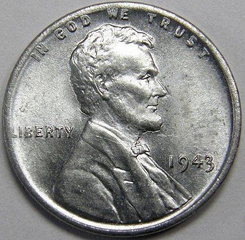 1943 P Lincoln Wheat Cent #5