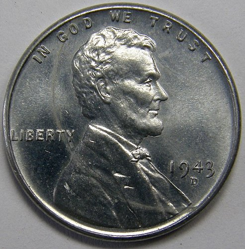 1943 D Lincoln Wheat Cent #6