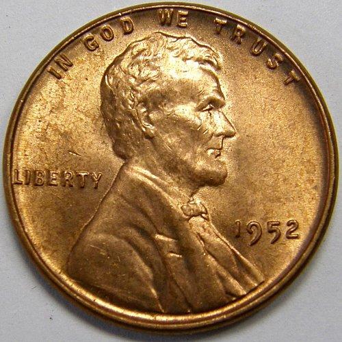 1952 P Lincoln Wheat Cent #3