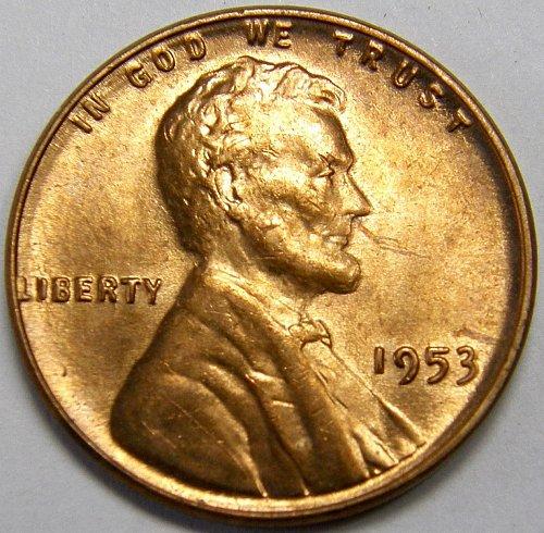 1953 P Lincoln Wheat Cent #3