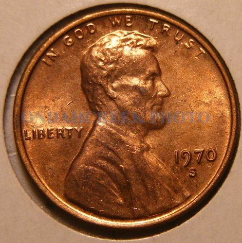 1970-S Lincoln Cent Floating Roof BU