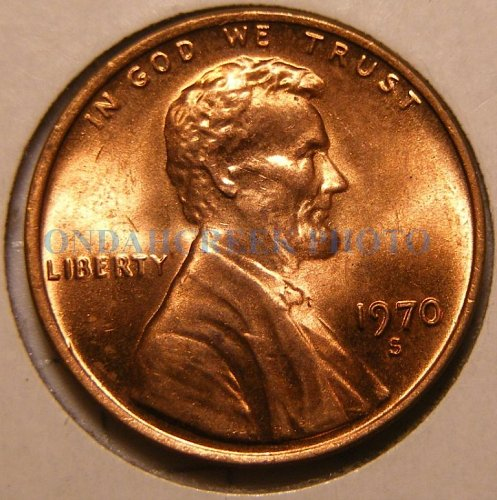 1970-S Lincoln Cent Floating Roof Choice BU