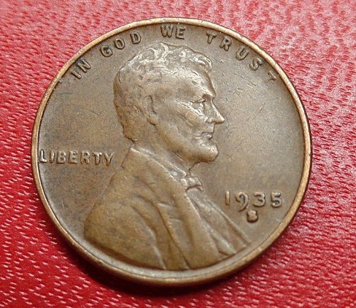 1935 S Lincoln Wheat Cent ....