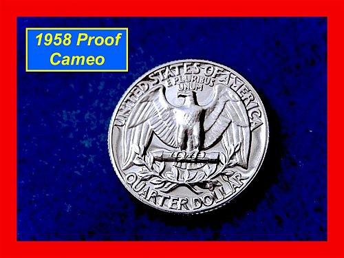1958 Proof Washington Quarter ••• (#2290)
