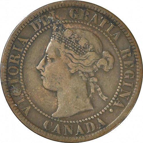 Canada, One Cent, 1896,  (Item 30)