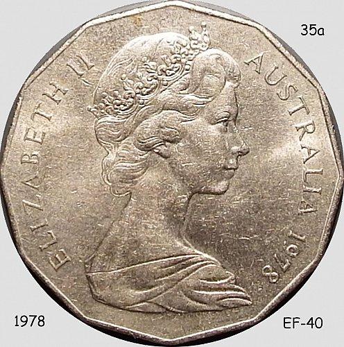 Australia, 50 Cents, 1978, (Item 35)