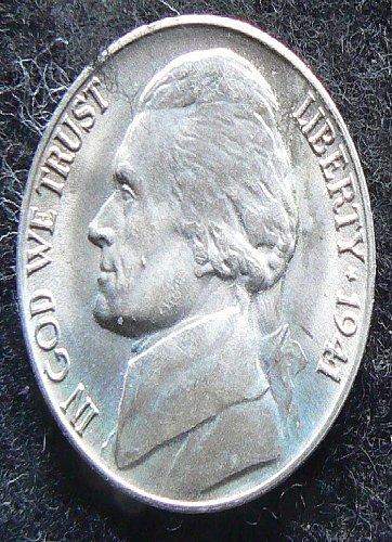 1941 D Jefferson Nickel FS
