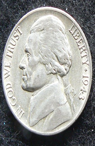 1943 P Jefferson Nickel (VF-30)