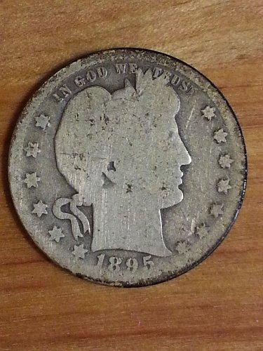 1895-O Barber Quarter