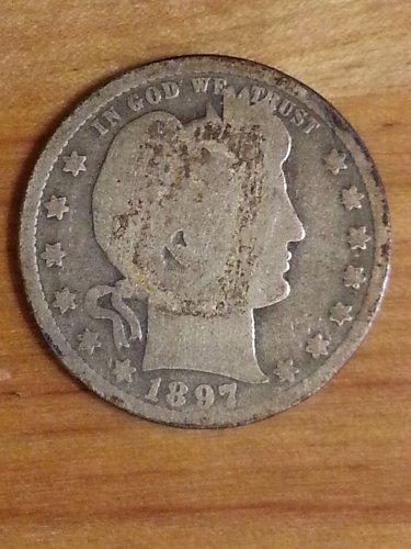 1897-O Barber Quarter