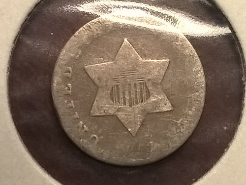 1851-P Three Cent (Silver)